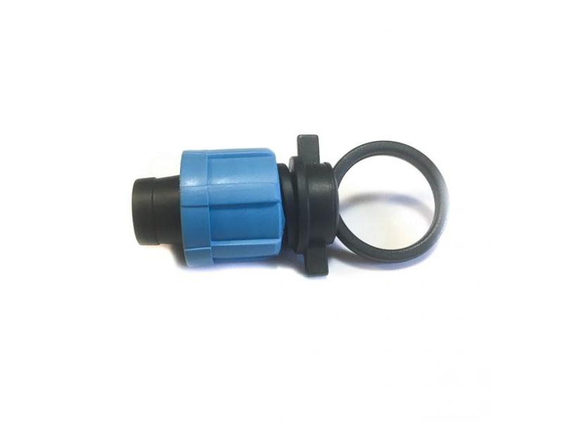 заглушка для капельной ленты 16 мм.